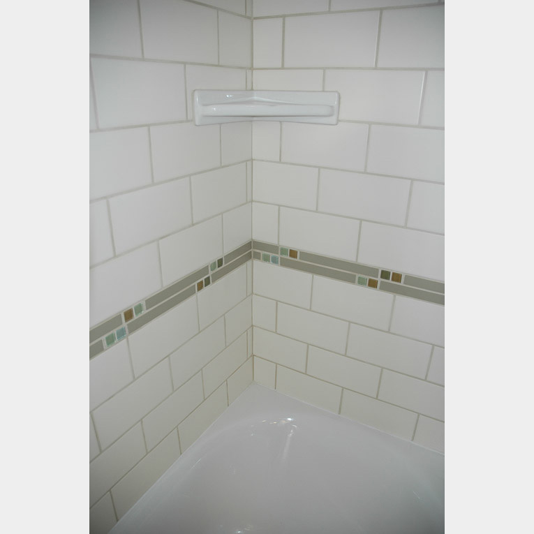 Manhattan White Matte Subway Tile X - 6x8 white wall tile