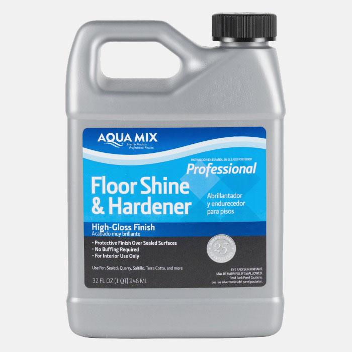 Aqua Mix Floor Shine Amp Hardener Quart