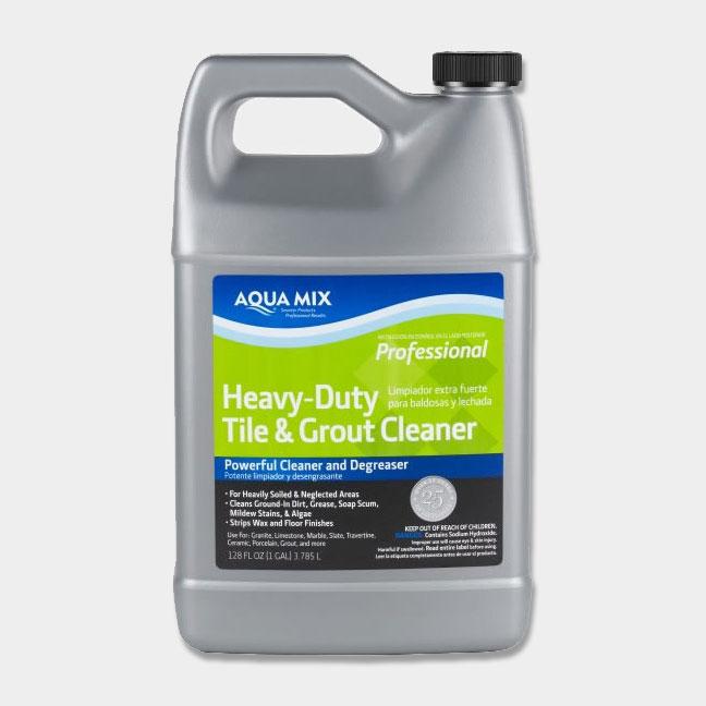 Aqua Mix Heavy Duty Tile Amp Grout Cleaner Gallon