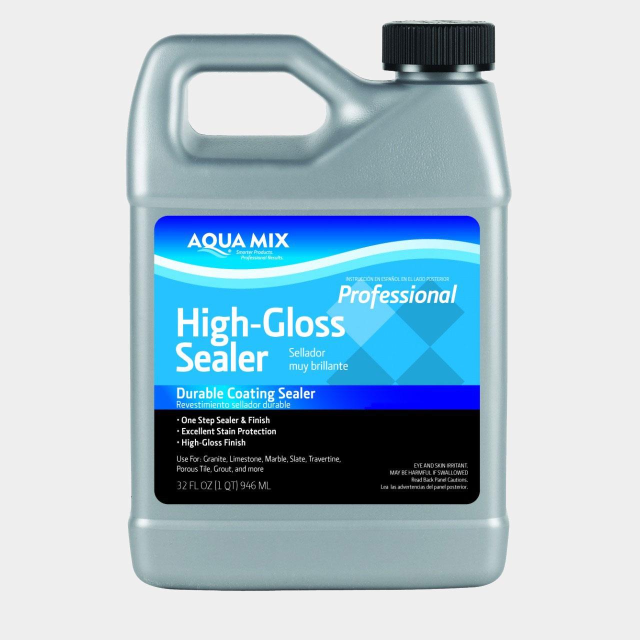 Aqua Mix Floor Shine Amp Hardener Gallon