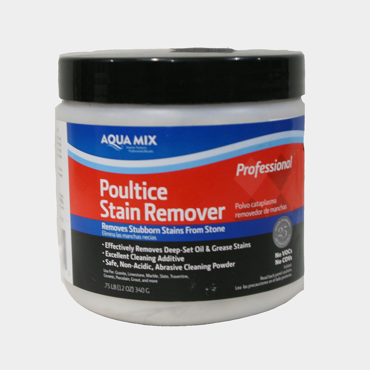 Aqua mix poultice 3 4 lb jar for Concrete cleaner oil remover