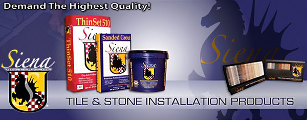 Siena Installation Products
