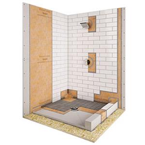 Shower Cutaway