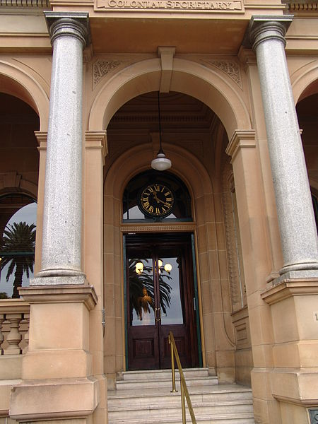 Sandstone building in Sydney, Australia