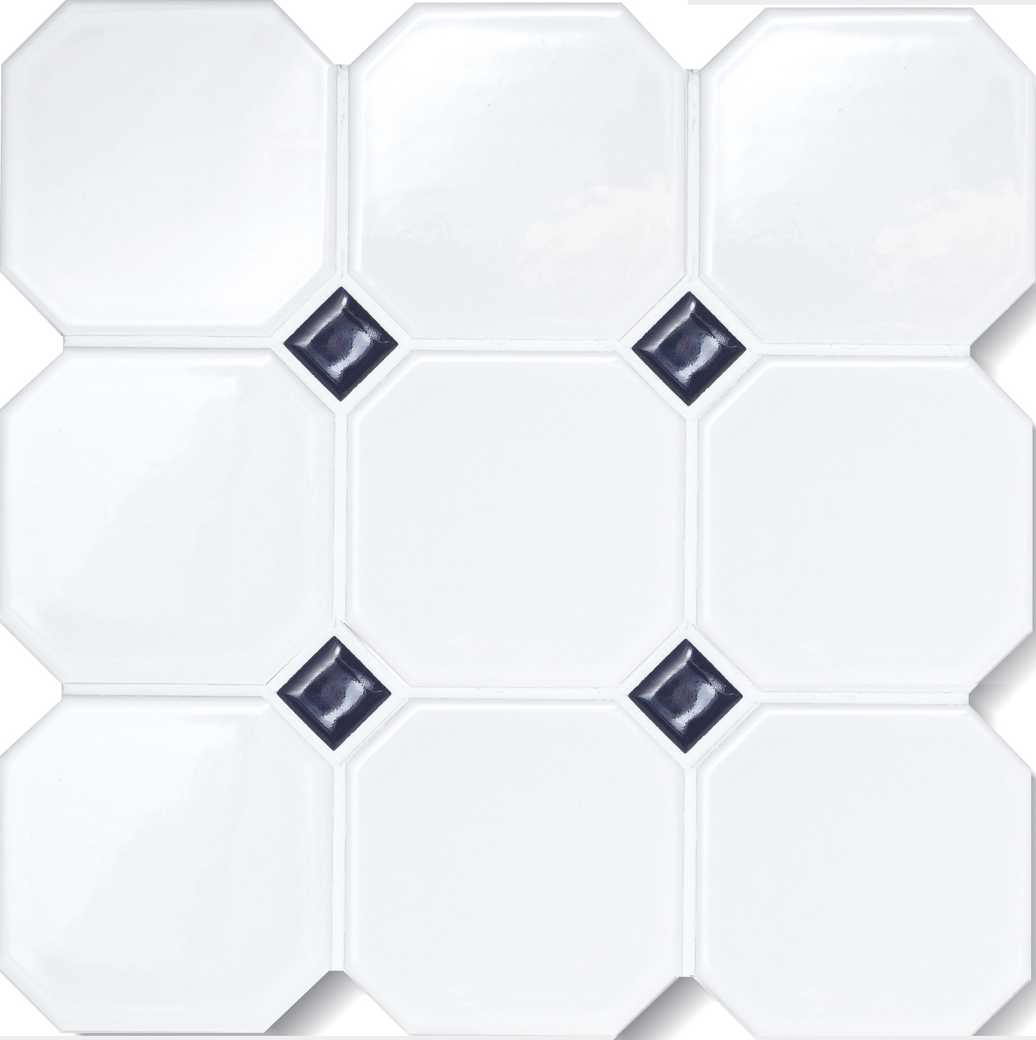 Octagon matte white 4x4 octagon wo dots dailygadgetfo Images