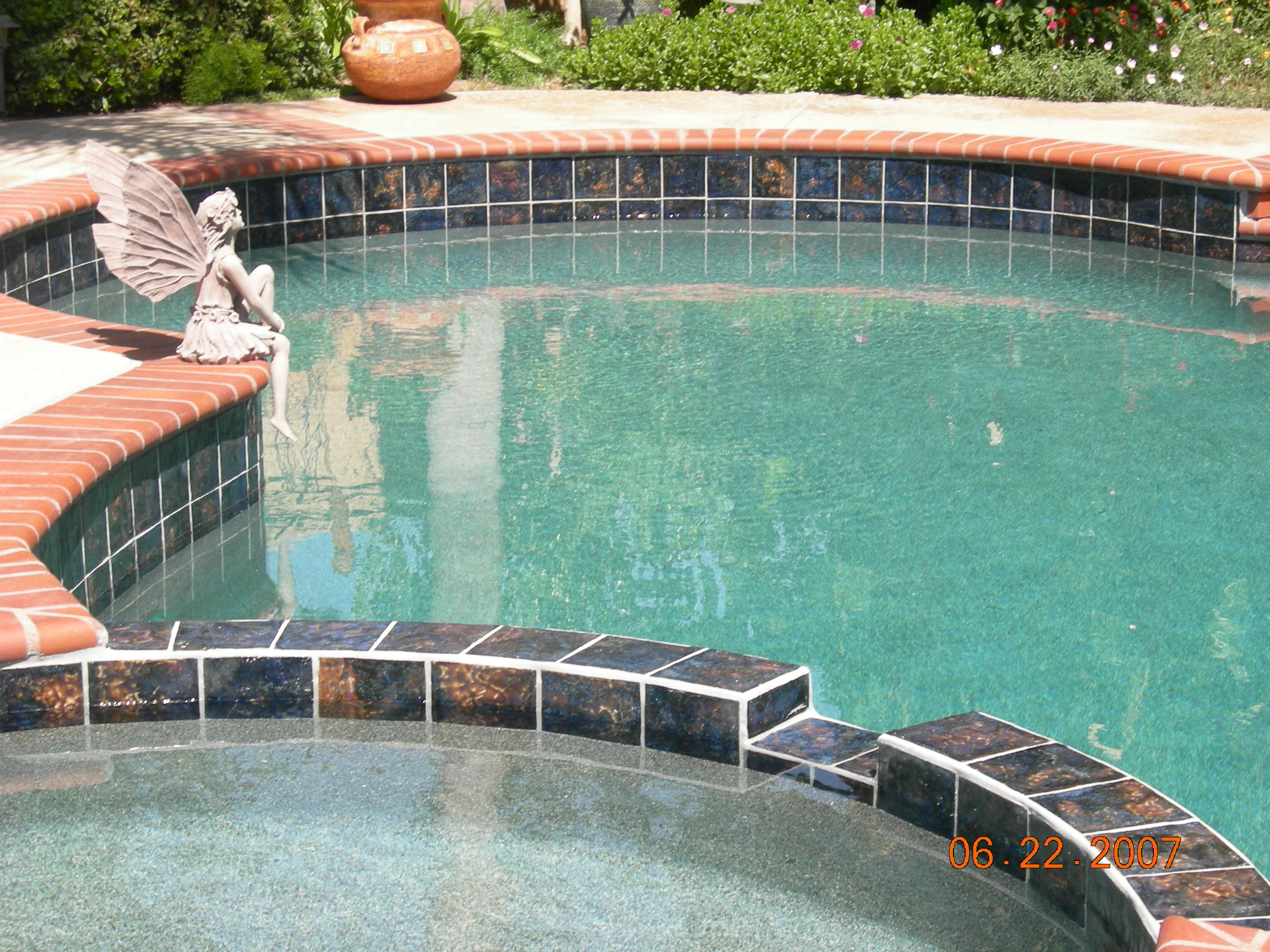 Bohol 6x6 hills for Swimming pool tiles