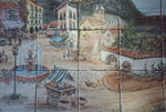 Village Mural up Close