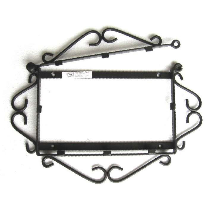 House number baroque style 1 4 for House number frames